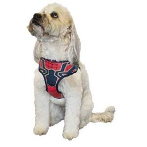 Marvel Comics Spiderman Dog Harness Size Large